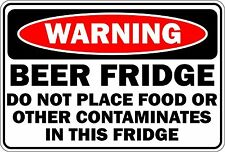 Sticker decal vinyl car laptop macbook beer fridge contaminates food funny