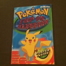 Pokemon Top 10 Handbook with Poster Inside Kids Book 2007 1st Edition