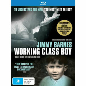 Jimmy Barnes: Working Class Boy (Collector's Edition) BLU-RAY NEW