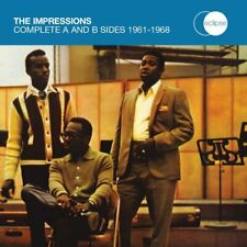 The Impressions - The Complete A and B Sides 1961 - 1968 [CD]