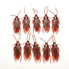 10Scarafaggio Bug Divertente burlaVita come falso trucco giocattolo di plasticaB