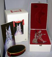 Swarovski crystal  Masquerade Pierrot SCS '99 w Box + Stand + COA  retired MIB