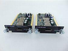Brocade Foundry FLS-1XG 10G Module LOT OF 2