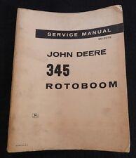 1966 JOHN DEERE JD350 400 JD450 JD500 JD600 TRACTOR 3500 ROTOBOOM SERVICE MANUAL