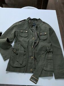 ASOS Petite Women's Size 6 Green 'Barbour' Jacket, Hardly Worn!
