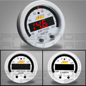 "AEM X-SERIES Wideband Gauge Faceplate White Accessory 2-1/16"" 52mm 30-0300-ACC"