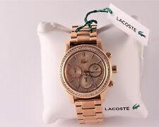 Lacoste  Charlotte 2000834 roségoldfarbe Damenuhr Chronograph UVP 315,- NEU!!