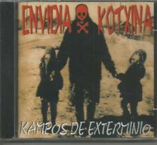 ENVIDIA KOTXINA - KAMPOS DE EXTERMINIO CD ALBUM SEALED 17 TRACKS SPAIN MINT