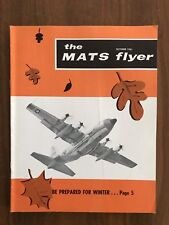 The MATS Flyer October 1961 Military Air Transport Service Magazine