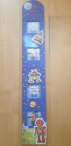 baby height chart wood