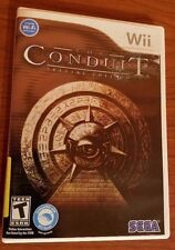 The Conduit Limited Edition (Nintendo Wii, 2009) COMPLETE Art Book - Ships Fast