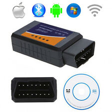 OBD2 II ELM327 Auto Car Diagnostic Scanner Support IOS and Android WIFI windows
