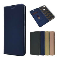 Magnetic PU Leather Flip Case Shockproof Card Cover for Xiaomi Mi 8 Lite