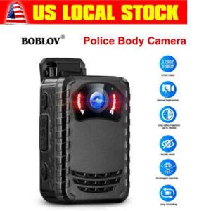 1296P HD Police Body Camera Night Vision for Law Enforcement mini Body Worn Cam