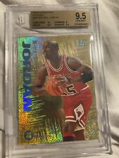 1994-95 Emotion N-tense #N3 Michael Jordan BGS 9.5 Gold Foil Insert Bulls Rare