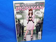 INVINCIBLE IRON MAN 7 WOMEN OF POWER VARIANT 1ST APPEARANCE RIRI WILLIAMS HEART