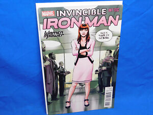 INVINCIBLE IRON MAN 7 WOMEN OF POWER VARIANT 1ST APPEARANCE RIRI WILLIAMS HEART