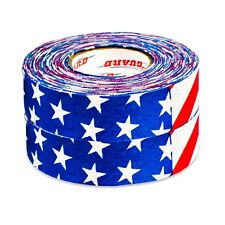 "Proguard Ice Hockey 130Fl Us Flag Ice Hockey Tape 2 Pack 1""X20 yds"
