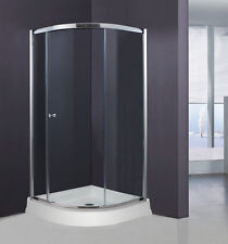 "ART OF BATH 36"" x 36"" x 70"" SEMI-FRAMELESS SLIDING SHOWER DOOR 1/4"" GLASS + BASE"