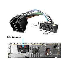 Câble adaptateur connecteur faisceau ISO pour autoradio SONY 16 pins