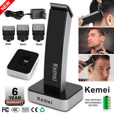 KEMEI Men's Pro Electric Hair Clipper Charging Grooming Trimmer Razor Haircut US