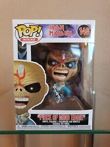Funko POP! Iron Maiden Vinyl Figure - Piece Of Mind Eddie #146