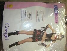 "SECRET WISHES COLLECTION "" COWGIRL "" ADULT WOMAN'S COSTUME"