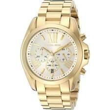 Michael Kors Men's Watch Oversize Bradshaw Chrono Yellow Gold Bracelet MK6266