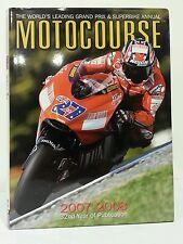 MOTOCOURSE 2007-2008. Ducati & Casey Stoner MOTO GP