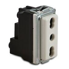 Presa elettrica bivalente 10/16a compatibile con Bticino Magic 5180 Master 16059