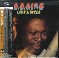 B.B.KING-LIVE & WELL-JAPAN MINI LP SHM-CD Ltd/Ed  BONUS TRACK G00