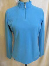 Eddie Bauer Sport Womens Size Small Pullover Fleece Lightweight Jacket Blue top