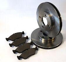 Fiat Stilo 1.9 JTD Set 2 Bremsscheiben Bremsen 4 Beläge Belege vorne Vorderachse