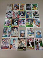 HALL OF FAME Baseball Card Lot 1979-2020 KEN GRIFFEY JR. NOLAN RYAN AL KALINE +
