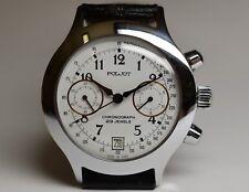 Poljot Chronograph 3133 Uhrwerk Herrenuhr Russische Uhr wristwatch Chrono
