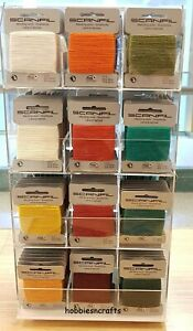 SCANFIL THREAD For DARNING & MENDING Lots of Colours 15 Metres Multi buy savings
