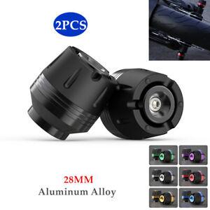 28MM CNC Motorcycle Frame Slider Anti Crash Engine Falling Protector Universal×2