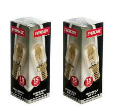 Eveready Fridge Lamp 15w Small Edison Screw Boxed Appliance Light Bulb Elect