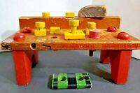 Playskool Take Apart Workbench Vintage late 60's