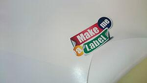 20 Super White Semi-Gloss A4 Self Adhesive Inkjet Printable Paper Sticker Sheets