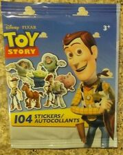 Disney Toy Story Mini Stickers 104 Pack #2 Free Shipping New Woody Buzz