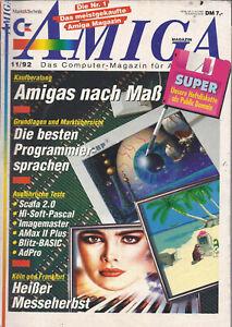 Amiga 11/92  - Große Kaufberatung: Amiga nach Maß