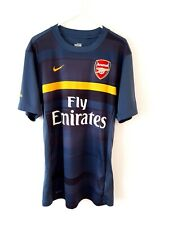 Arsenal Training Shirt. Small Adults. Nike. Blue Short Sleeves Football Top Only