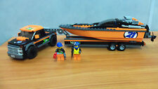 Lego City 60085 - 4 x 4 with Powerboat - 100% Complete