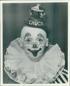 Portrait of Chucko The Clown Original Photo