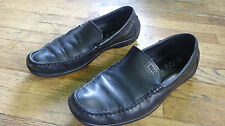 ECCO Mens 10.5 US Black Loafers - Casual - Comfort - Slip On - Vegetable Tanned