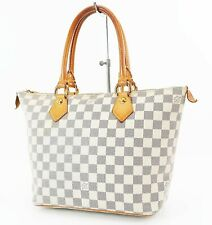 Authentic LOUIS VUITTON Saleya PM Damier Azur Tote Hand Shoulder Bag #36934