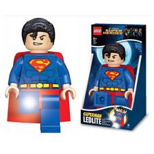 Lego Super Heroes Taschenlampe Superman Kinder Super Man Figurenhöhe: ca. 20 cm