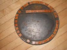 Old 1917 TIN & WOOD Educational TOY Spelling ALPHABET Game FOXY TOYS