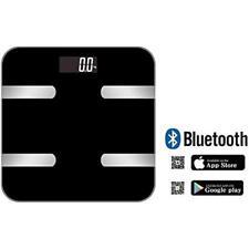 Digital Wireless Body Fat Monitor Scale Weight Bmi Backlit LCD Measurements APP